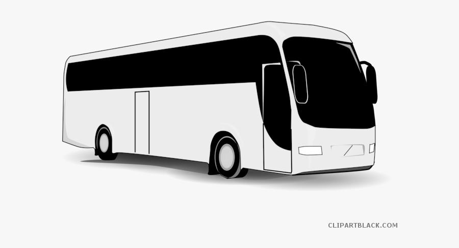 Clip Art Party Freeuse Library - Tour Bus Clip Art, Transparent Clipart