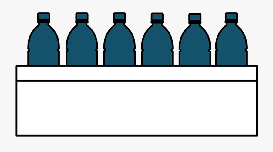 Water Bottle Monthly Delivery - Glass Bottle, Transparent Clipart