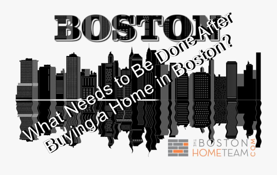 Transparent Boston Skyline Png - Boston Skyline Transparent Png, Transparent Clipart