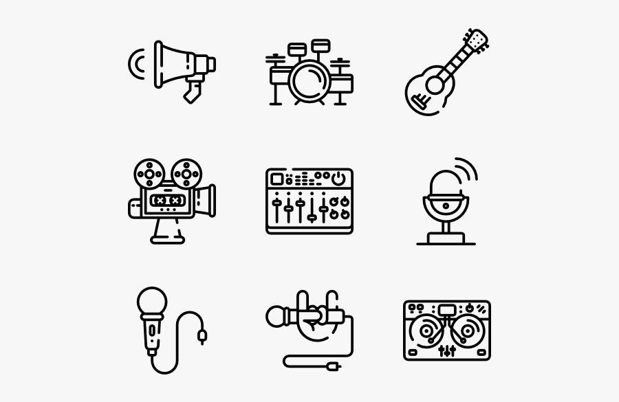 Record Studio - Studio Record Icon, Transparent Clipart