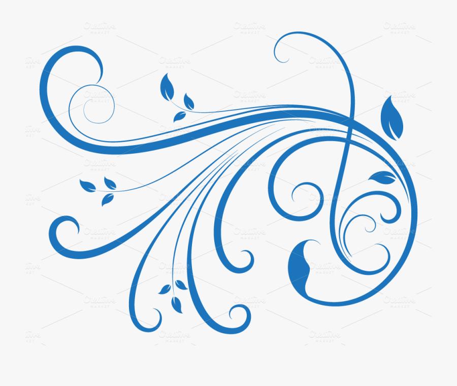 Transparent Swirl Design Clipart Transparent Swirl Design Blue Free Transparent Clipart Clipartkey