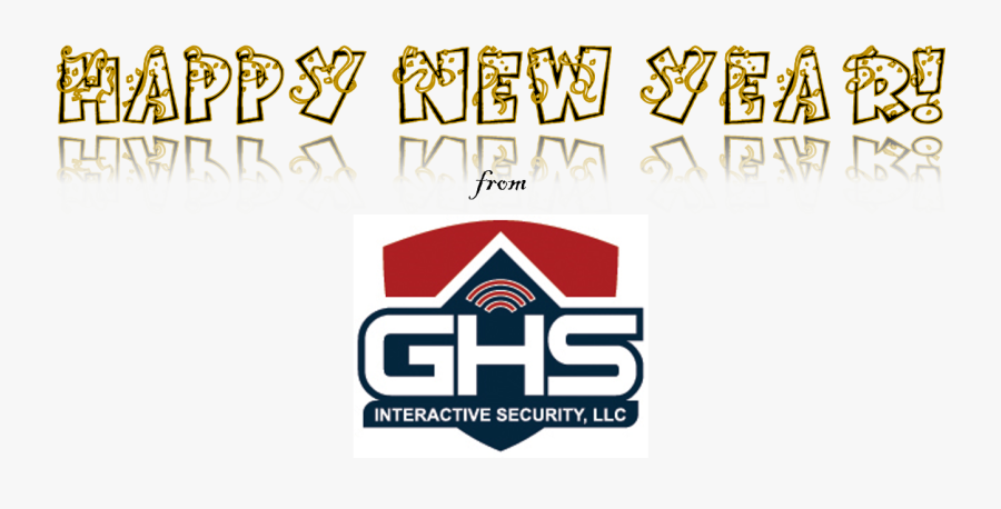 Happy New Year From Ghs - Ghs Security, Transparent Clipart