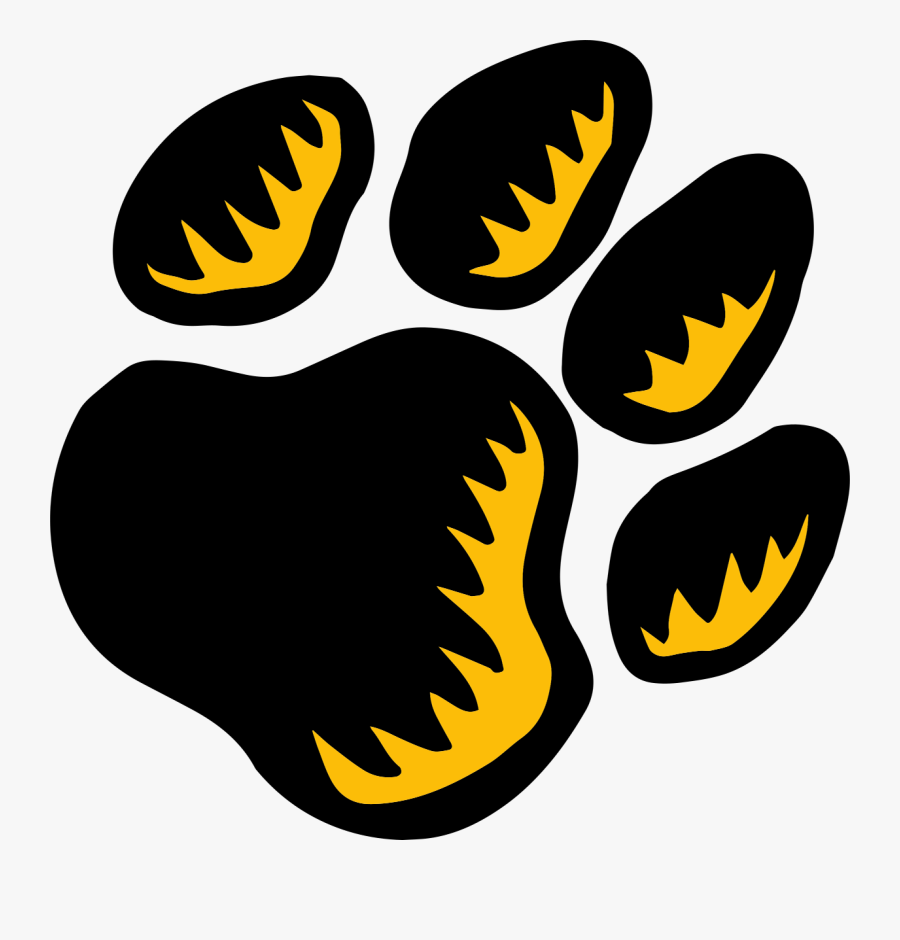 Return To Home - Cougar Paw Helmet Decals, Transparent Clipart