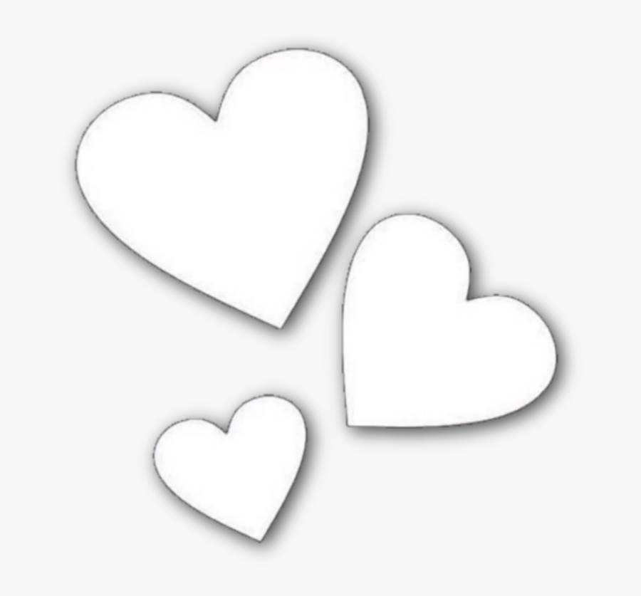 #heart #hearts #aesthetic #icon #overlay #background - Overlays For Photo Edits, Transparent Clipart