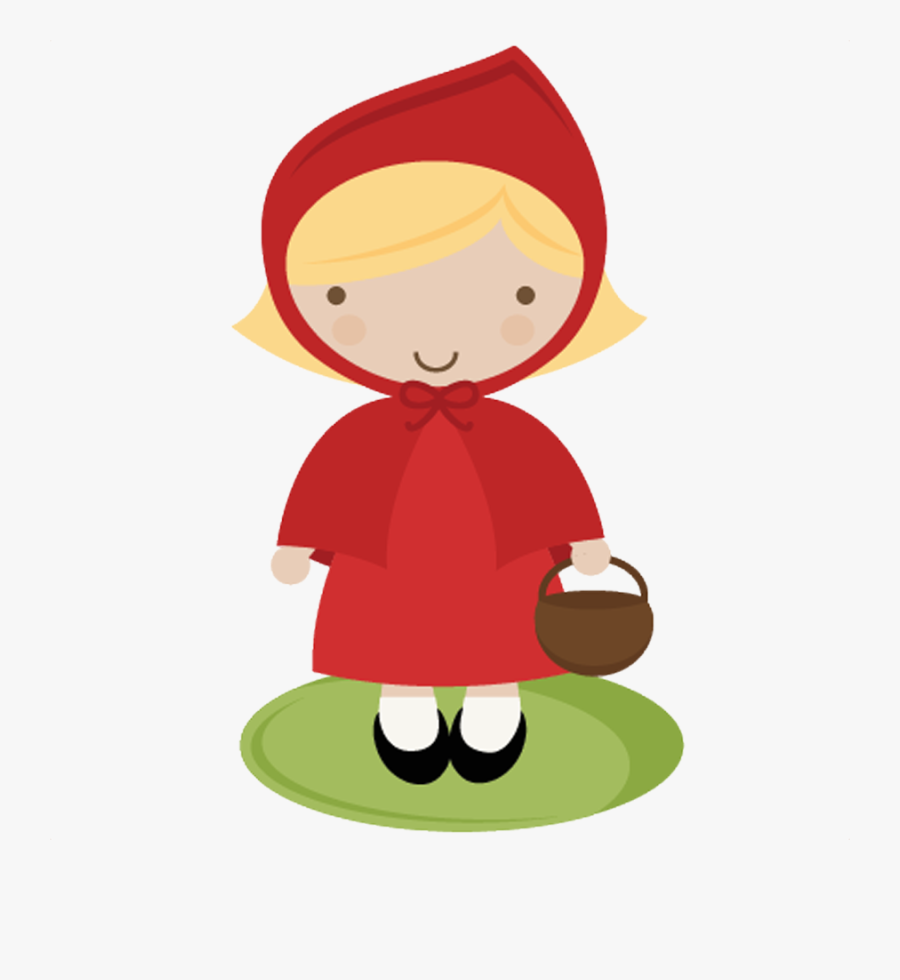 Little Red Riding Hood Png, Transparent Clipart