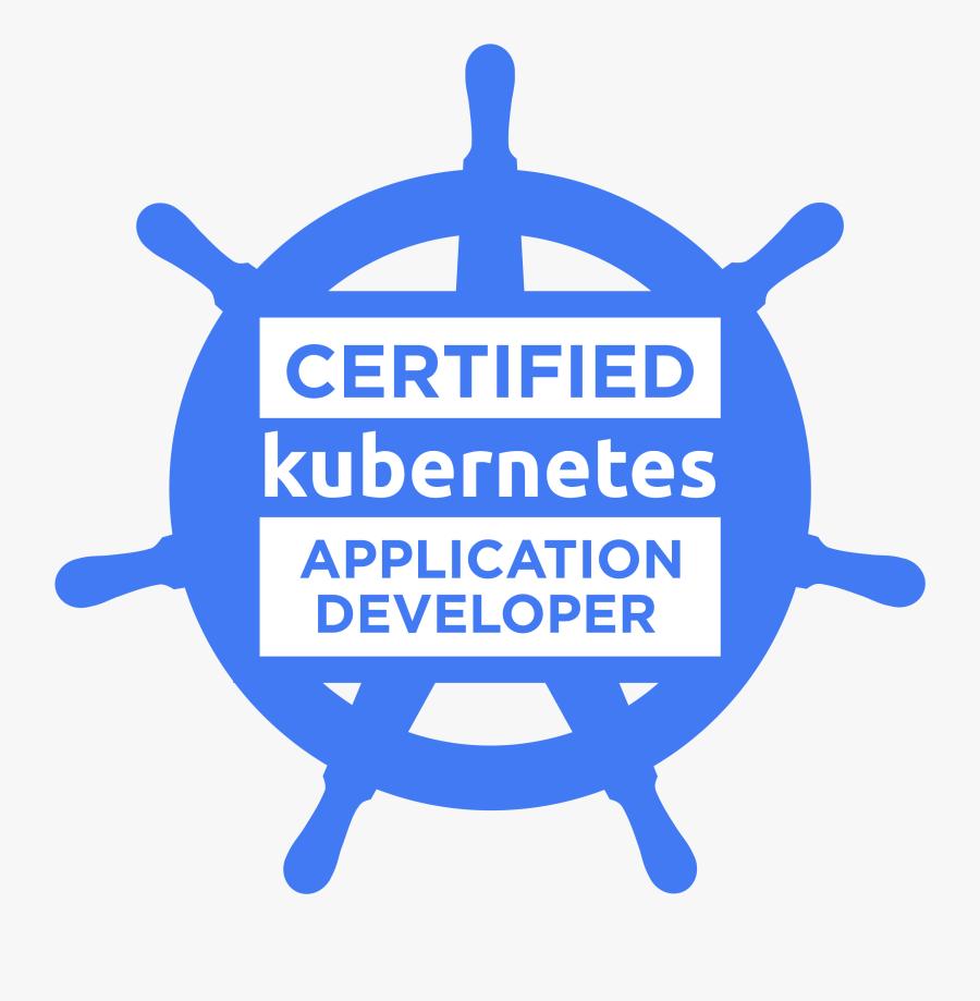Certified Kubernetes Application Developer, Transparent Clipart
