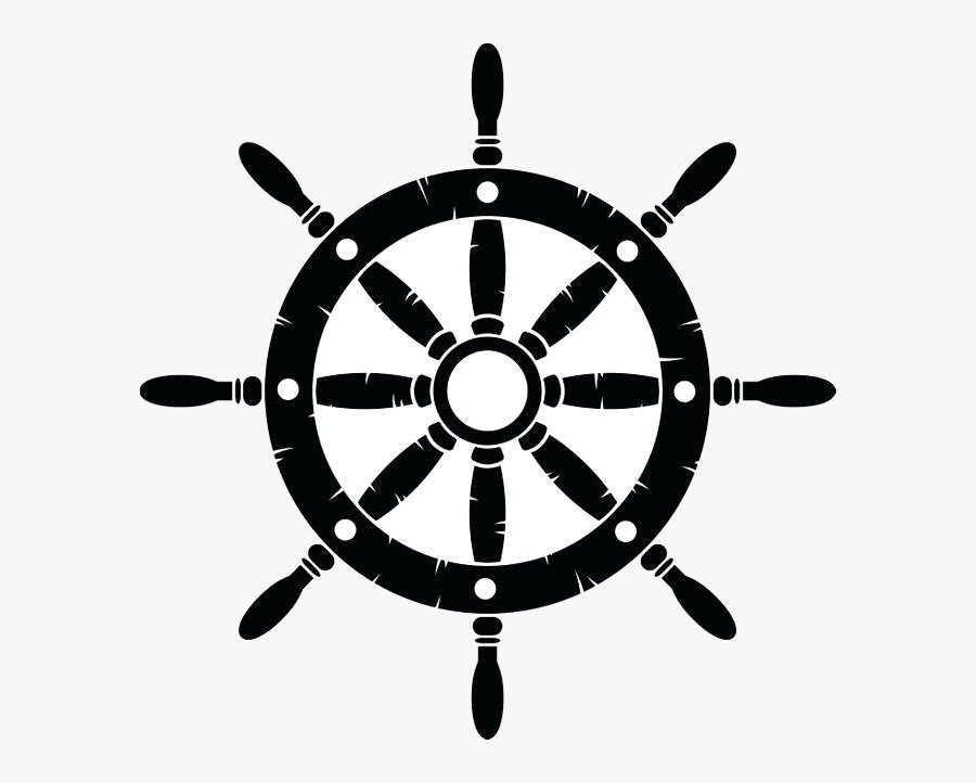 Ship Wheel Clip Art Transparent Png - Steering Wheel Ship Png, Transparent Clipart