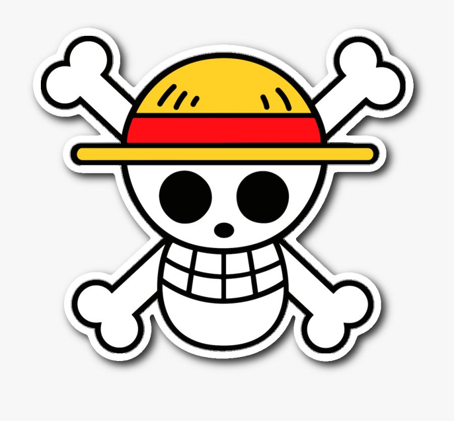 Pirate Hat Clip Art Image - One Piece Logo, Transparent Clipart