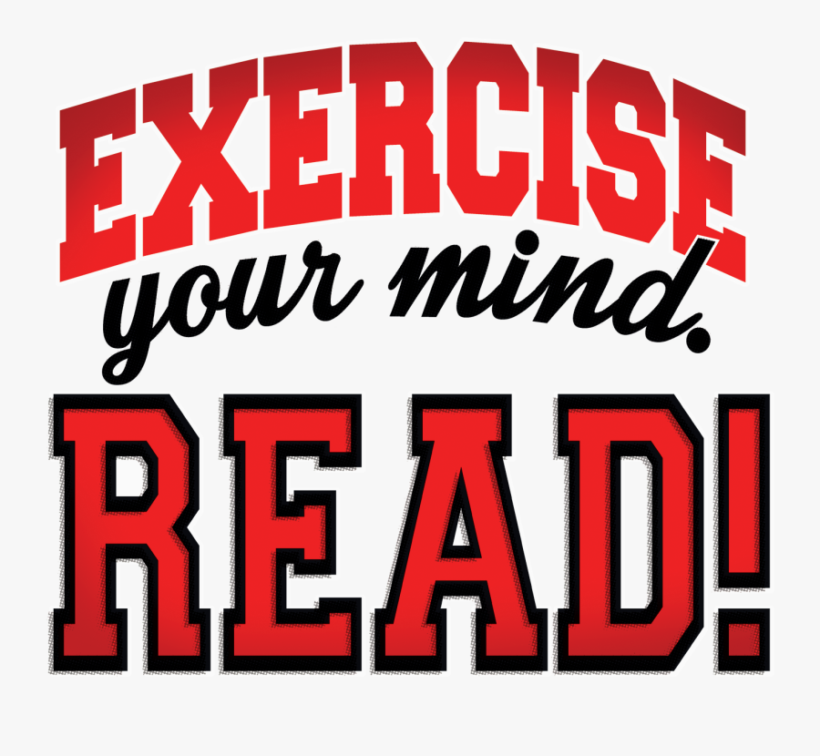 Exercise Your Mind Logo - Reading Program, Transparent Clipart