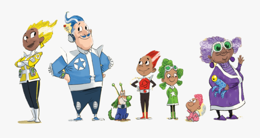 Summer Reading Challenge 2019 Characters, Transparent Clipart