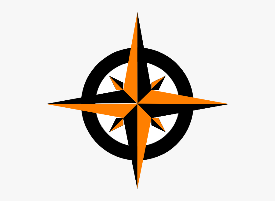 Compass Clipart Clip Art - North East West South Direction Logo, Transparent Clipart