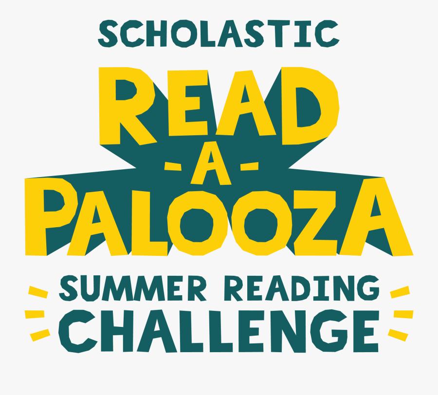 Transparent Summer Reading Clipart - Scholastic Read A Palooza Summer Reading Challenge, Transparent Clipart