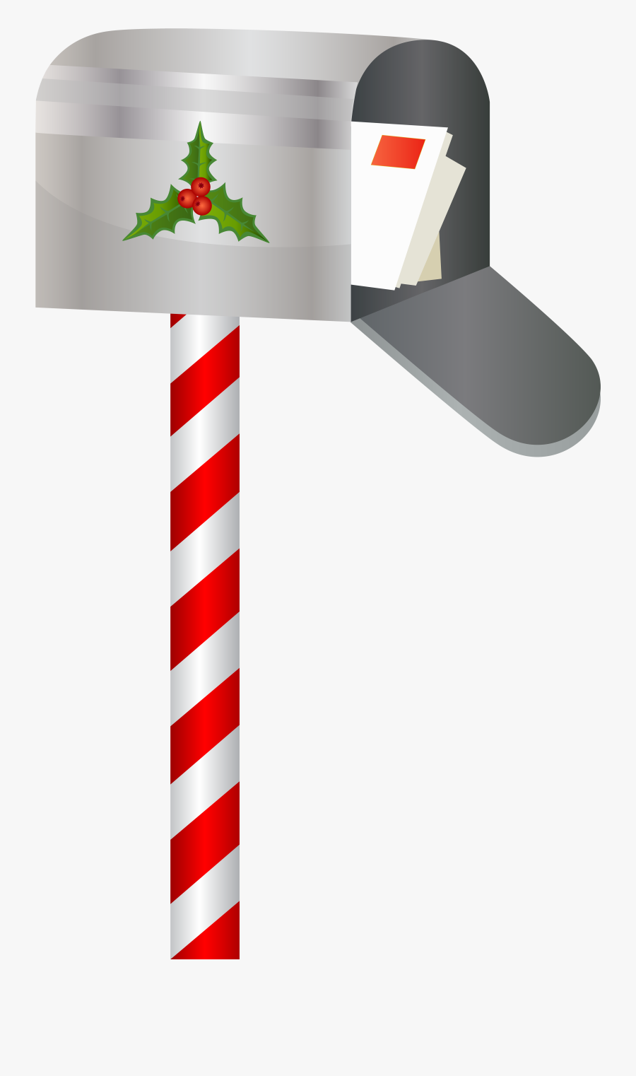 Christmas Mailbox Png Clip Art Imageu200b Gallery Yopriceville - Portable Network Graphics, Transparent Clipart