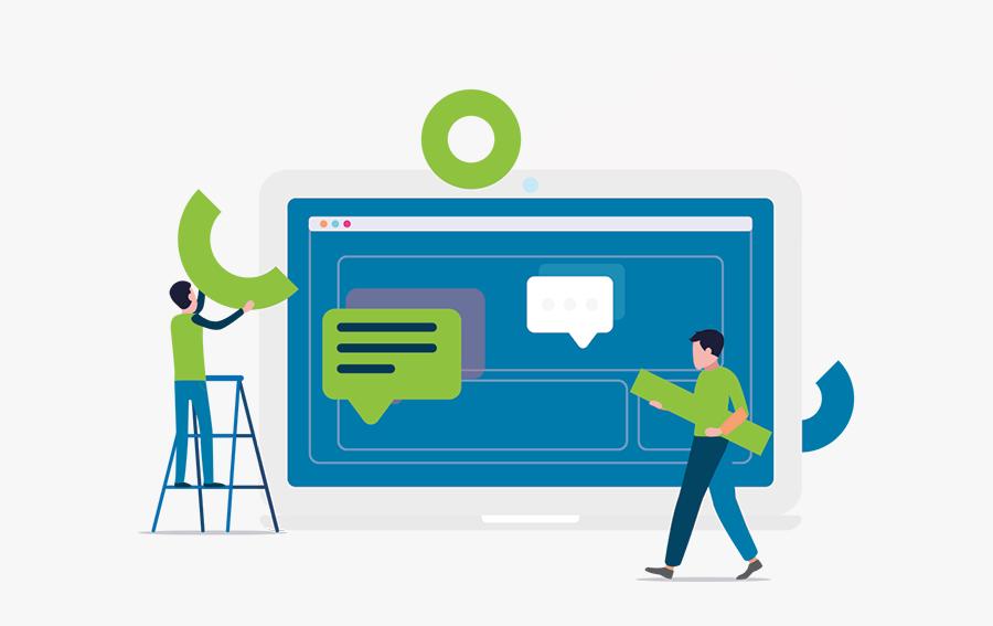 Illustration Web Design, Transparent Clipart
