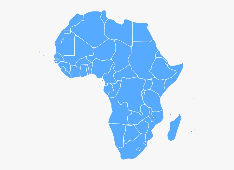 Map Of Africa Clip Art, Transparent Clipart