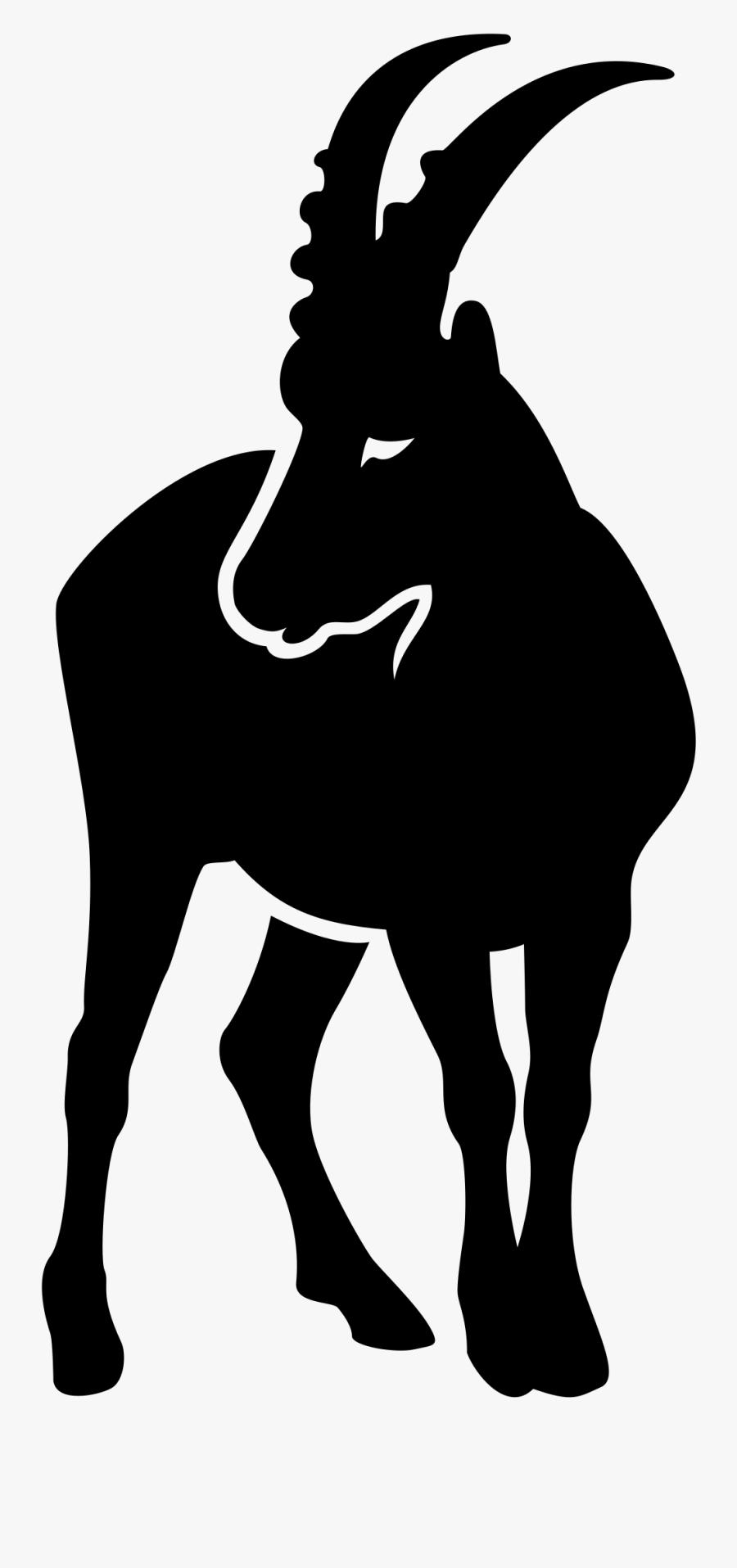 Mountain Goat Clipart Wild Goat - Capricorn Monthly Horoscope 2018, Transparent Clipart