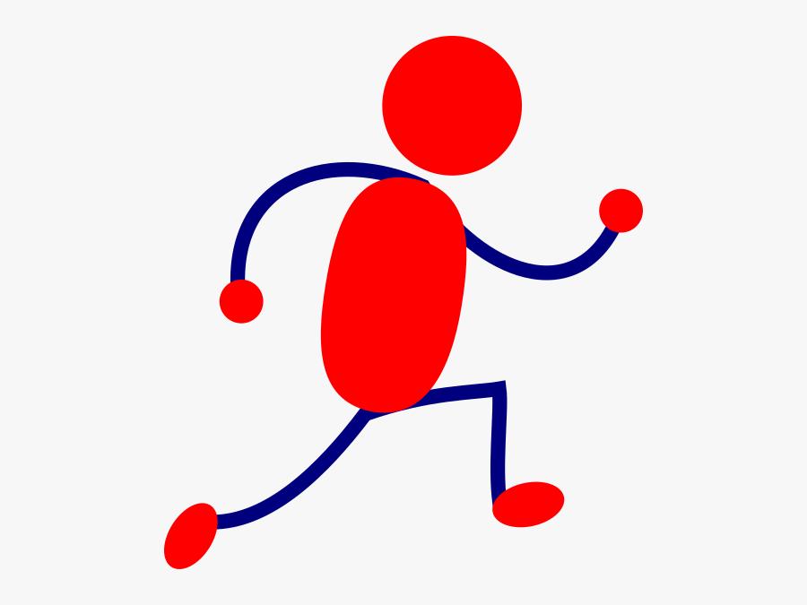 Cartoon Girl Running Clipart, Transparent Clipart