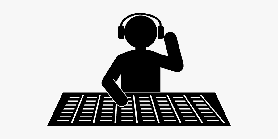 Music Producer Clipart, Transparent Clipart