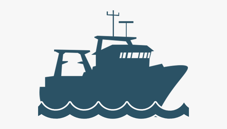 Trawlcamera Use On Board - Fishing Vessel Fishing Boat Icon, Transparent Clipart