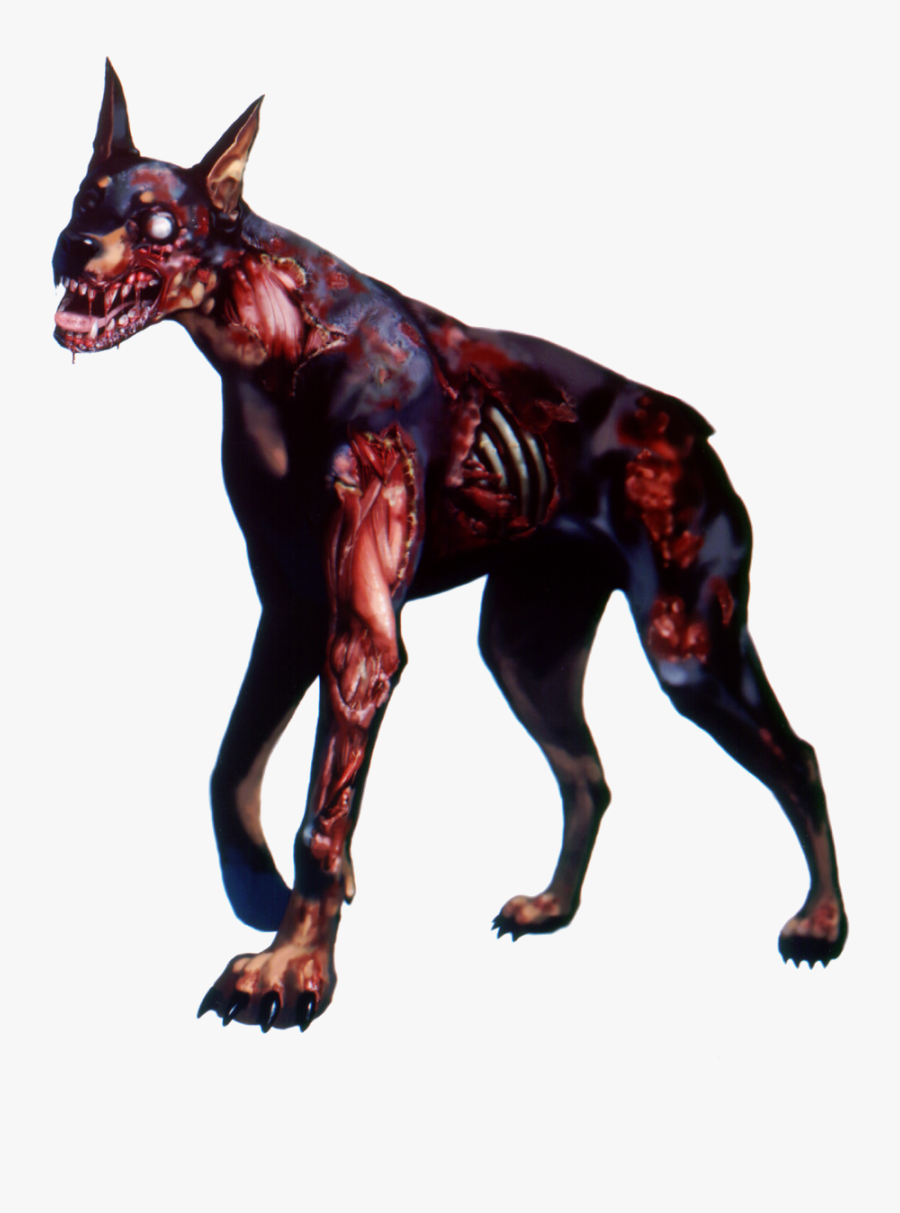 Hollywood Undead Clipart Dog - Zombie Dog, Transparent Clipart