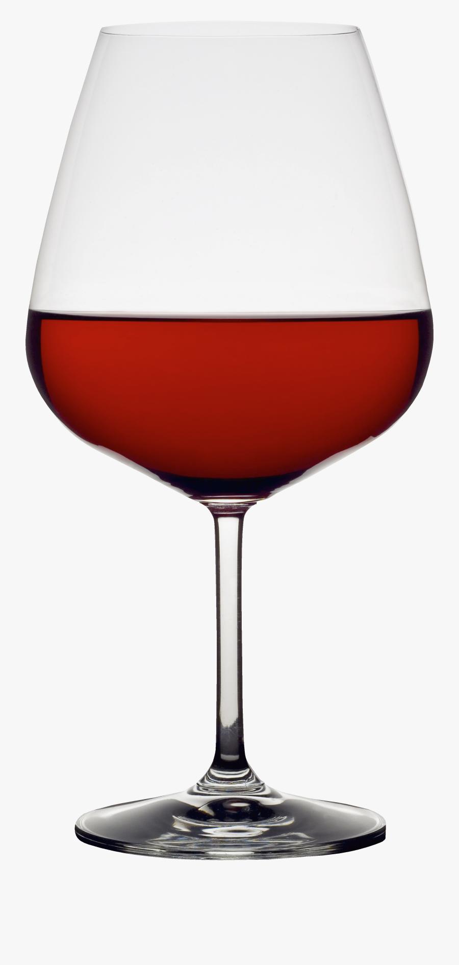 Transparent Wine Glass Clipart - Бокал Вина Фото Для Фш, Transparent Clipart
