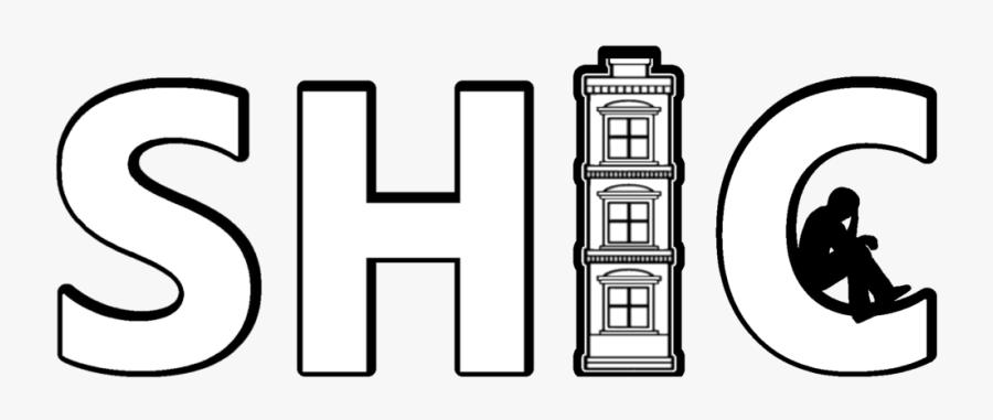 1 Shic Logo Bw Transparent Bg, Transparent Clipart