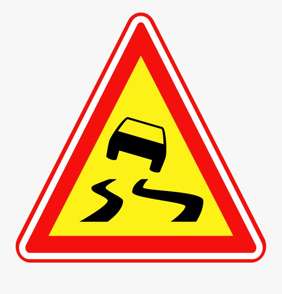Inspiring Traffic Signs Clip Art Medium Size - Cross Walk Road Signs, Transparent Clipart