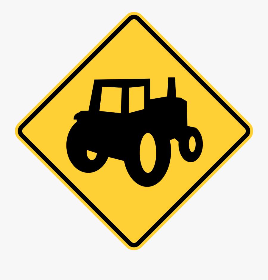 Atv Crossing Sign, Transparent Clipart
