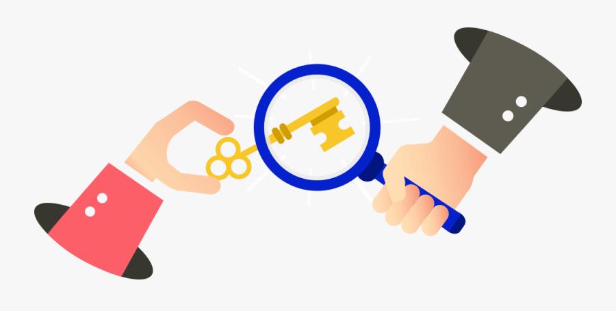 Keyword Research Illustration - Seo Keywords Research, Transparent Clipart