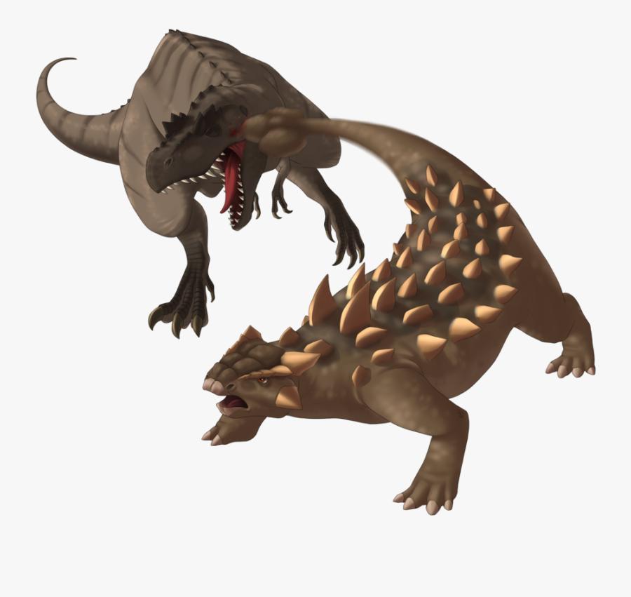 Clip Art Free Vs T Rex By - Ankylosaurus Vs T Rex, Transparent Clipart