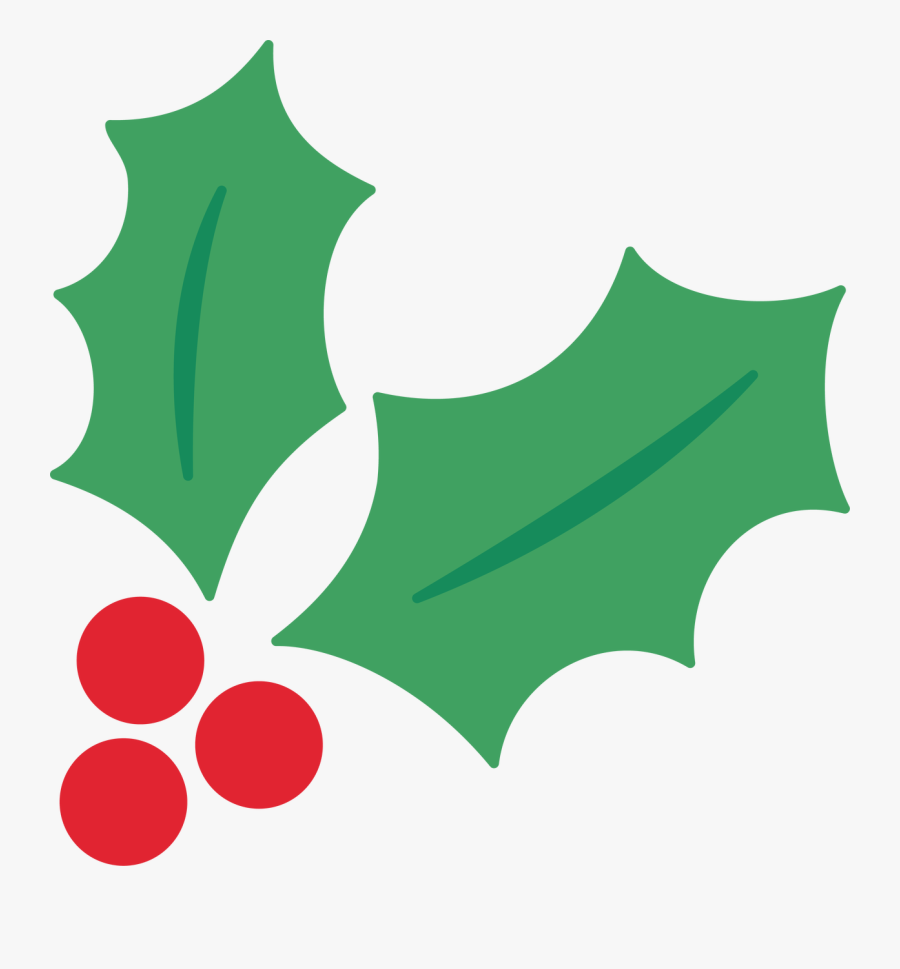 Holly Berries - Holly And Berries Svg, Transparent Clipart