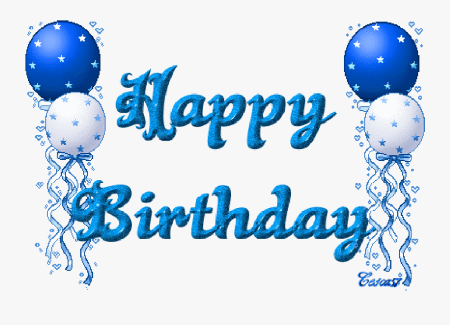 Daily Photos & Art - Happy Birthday Male Gif, Transparent Clipart