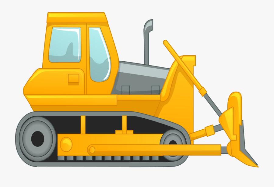 Bulldozer , Free Transparent Clipart - ClipartKey