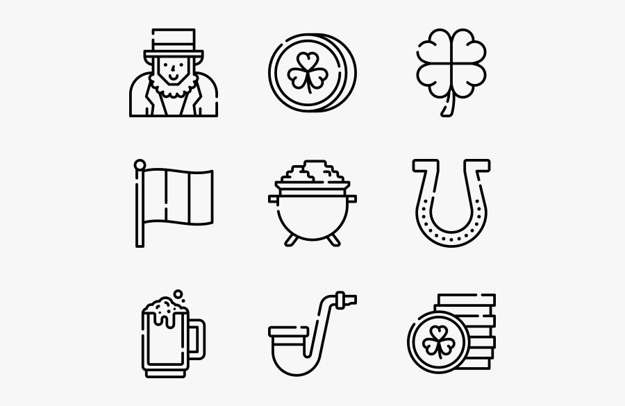"Patrick""s Day - Kitchen Utensils Icon Transparent Background, Transparent Clipart"