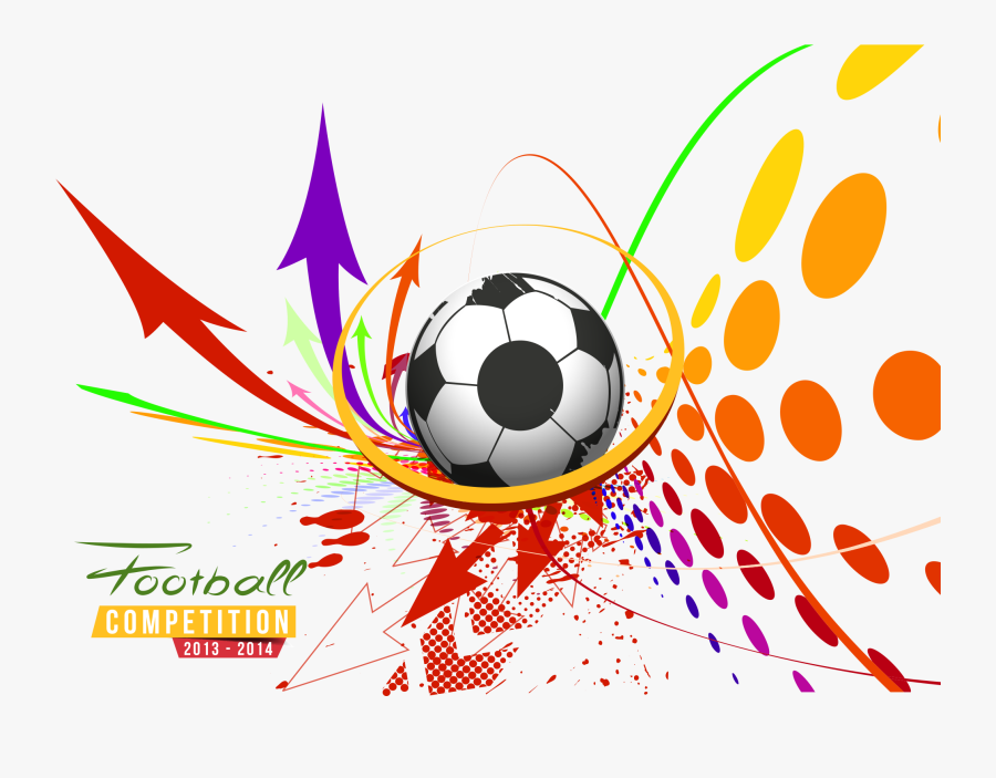 Vector Poster Football Sport Sports Free Transparent - Transparent Background Sports Png, Transparent Clipart