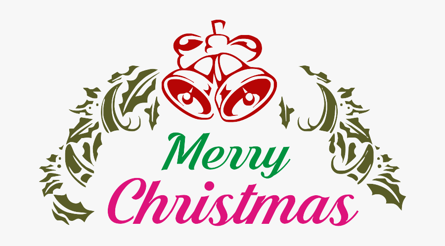 Transparent Merry Christmas Words Png - Royalty Free Merry Christmas Png, Transparent Clipart