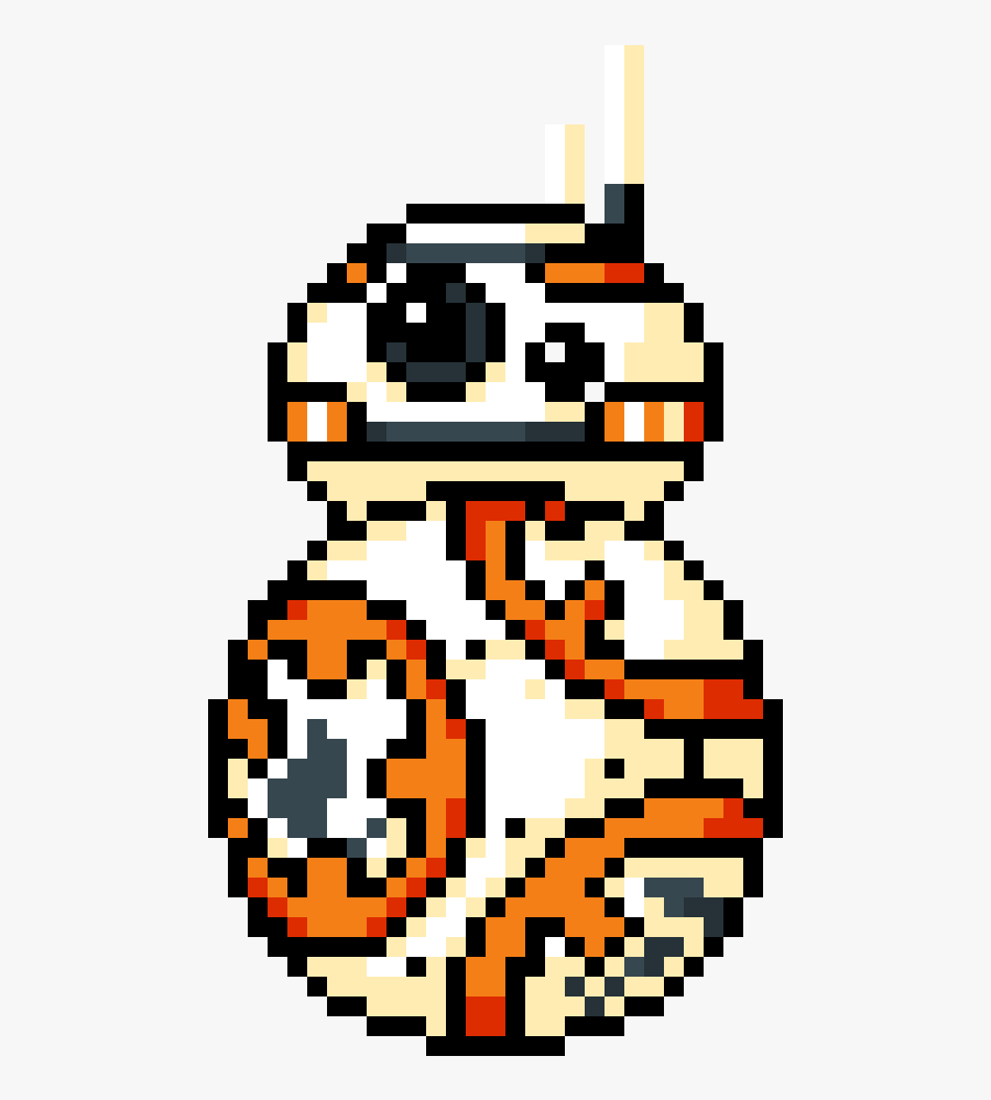 Transparent Bb 8 Png Dessin Pixel Art Star Wars Free
