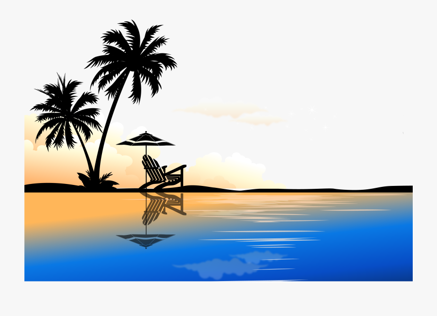 Arecaceae Euclidean Vector Tree Clip Art - Vector Palm Tree Png, Transparent Clipart