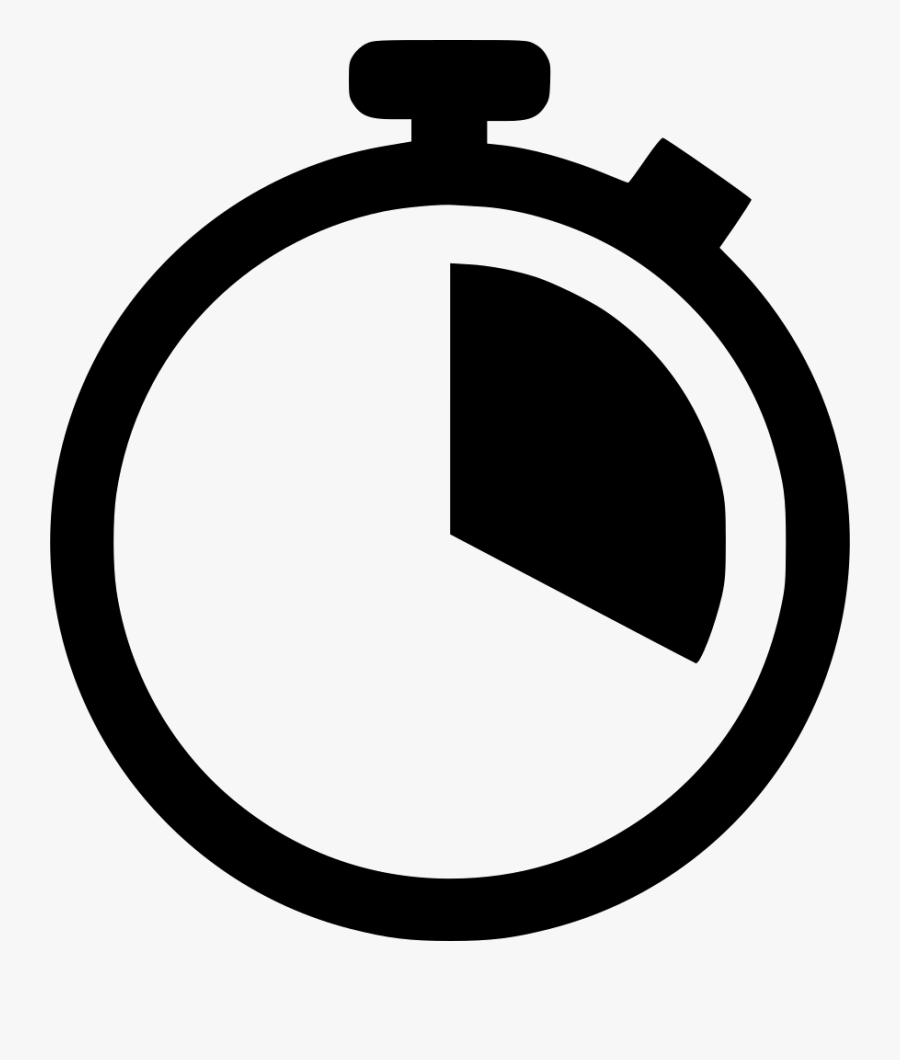 Stopwatch - Time Watch Icon, Transparent Clipart