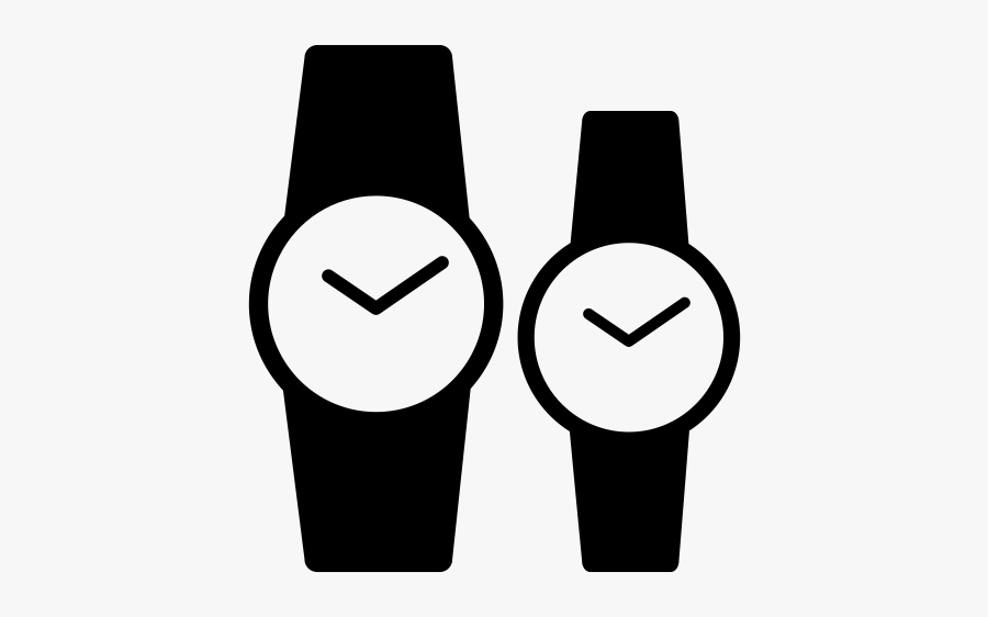 """Watches Rubber Stamp""""  Class=""""lazyload Lazyload Mirage - Clipart Watch Silhouette, Transparent Clipart"""