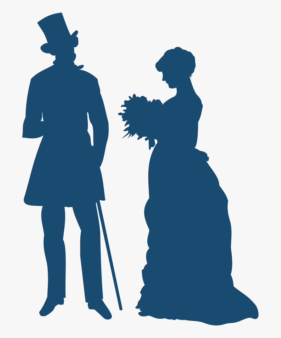 Old-fashioned Couple - Pride And Prejudice Png, Transparent Clipart
