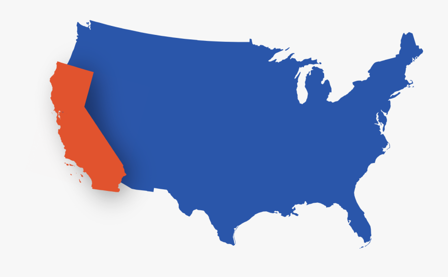 And California Also Has A Lower Mortality Rate Than - States With Death Penalty, Transparent Clipart