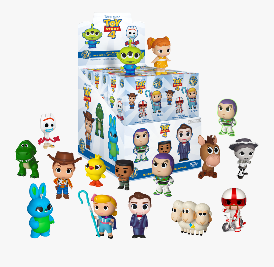 Toy Story 4 Mystery Minis, Transparent Clipart