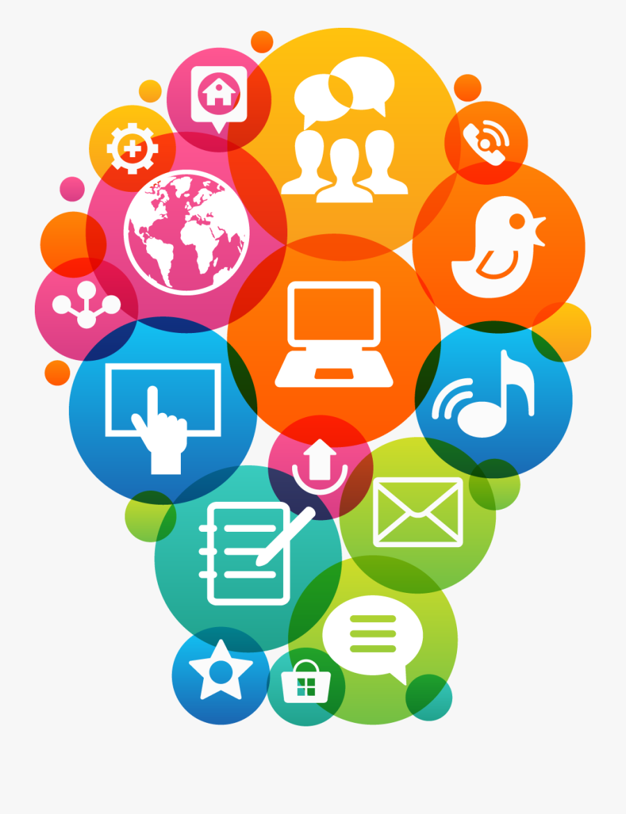 Digital Marketing Strategy Icon, Transparent Clipart
