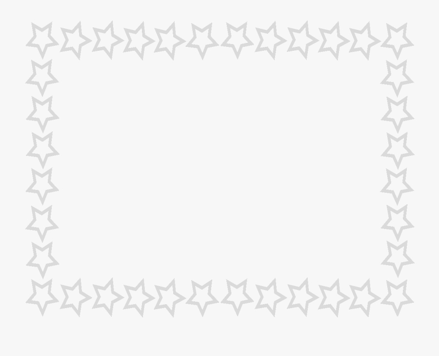 Page Green Frames Download - Star Border Clipart, Transparent Clipart