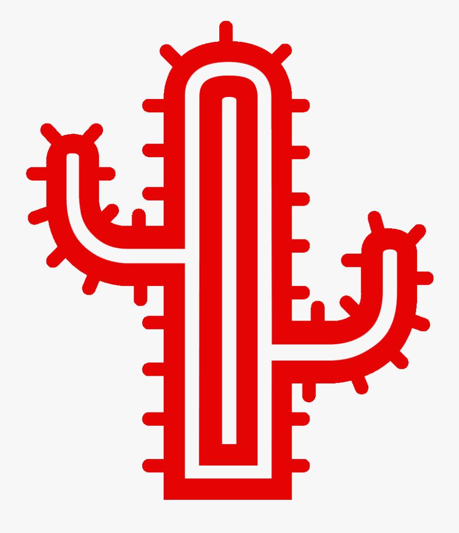Red Cactus Media - Graphic Design, Transparent Clipart