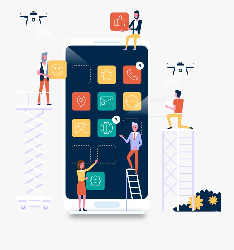 Mobile Application Development Company - App Development, Transparent Clipart