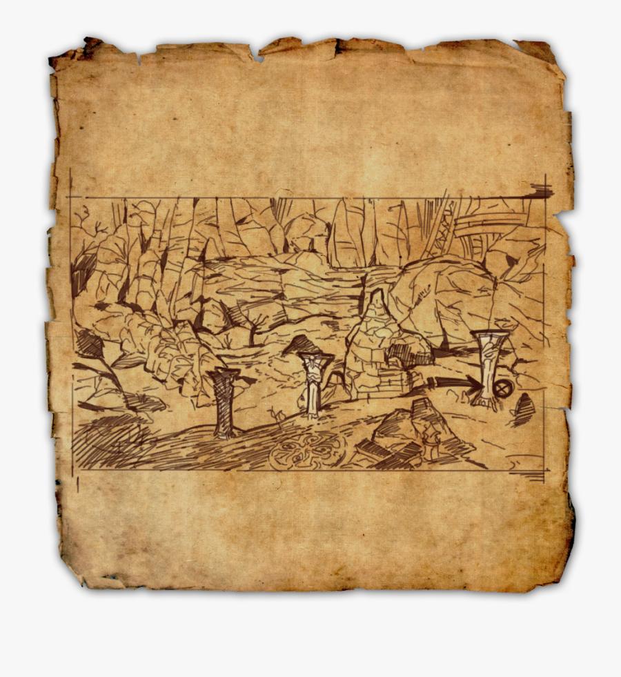 Transparent Iv Png - Treasure Map Png, Transparent Clipart