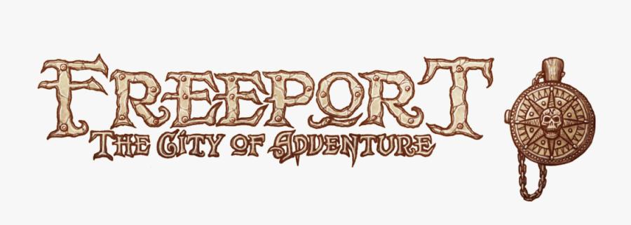 Freeportmaptitlesprite - Freeport City Of Adventure Logo, Transparent Clipart