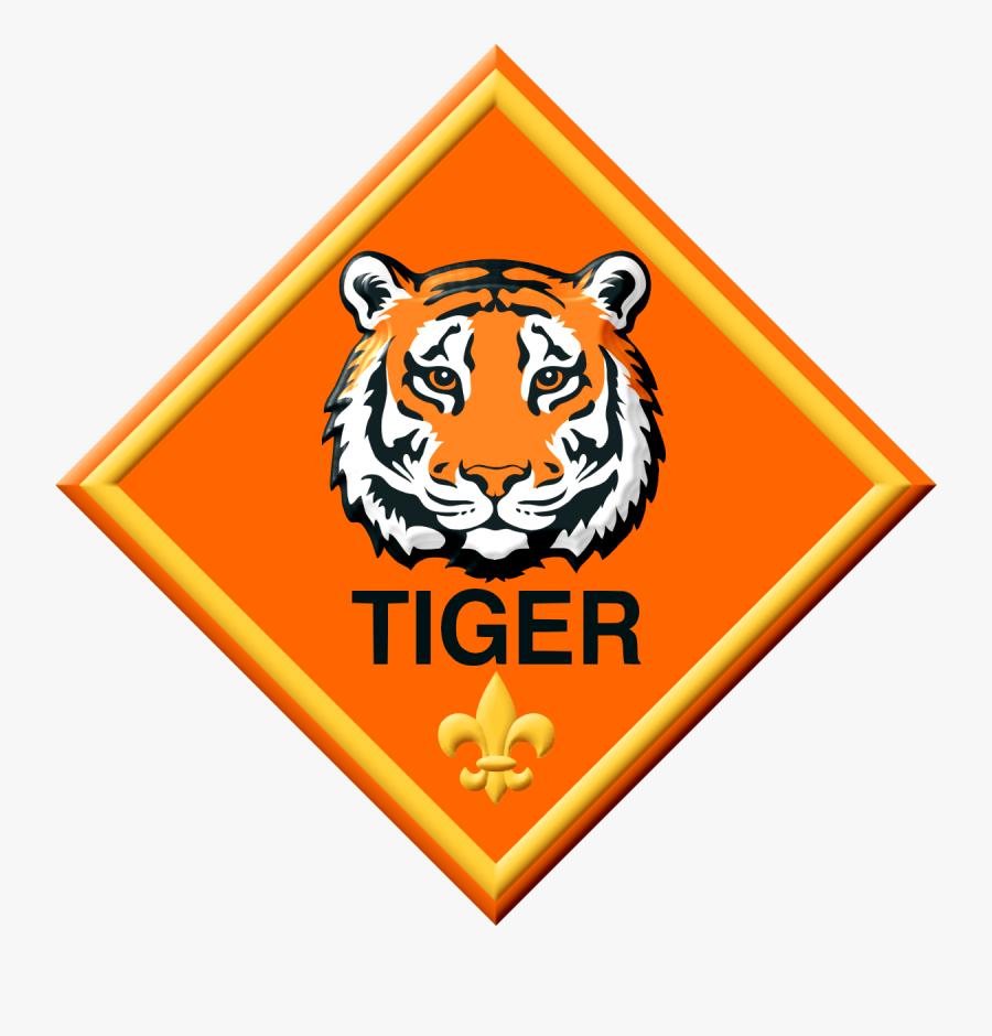 Cub Scout Tiger, Transparent Clipart